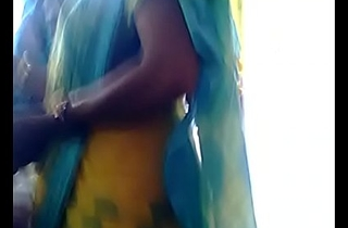 Desi aunty back