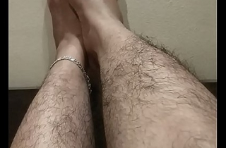 Indian feets hairy cookie