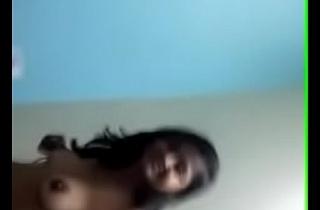 Stripping Indian girlfriend