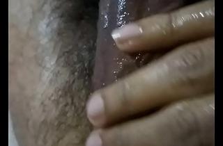Desi indian guy hibernating gumshoe gentle massage shaking