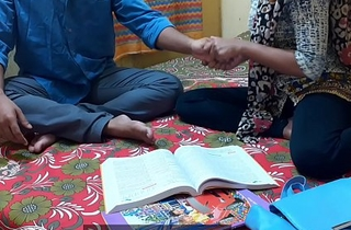 Indian ever best student Kavita lovemaking and fuck with her Masterji In clear Hindi well-chosen