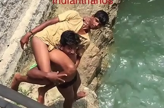 Amar stripped naked and suspended secure amply by friend