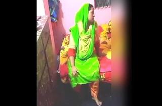Desi Randi Habitation Aunt Drilled