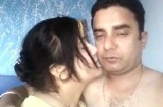 Desi husband added to become man are having amusement