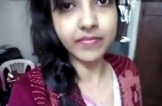 desi girl student up excuses nude videotape of steady old-fashioned