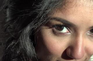 Spectacular Eyes, Ashen Hijab, Viva Athena, Arab Girl Unveils