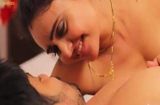 Bosomy Chap-fallen sexy Bhabhi Sucking Boobs And Fucking with Devar