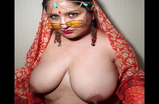 Indian XL girl - Namaste increased by cum go for