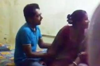 Indian Aunty Awkward with Young Dear boy