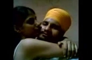 Desi punjabi couple having romantic discretion