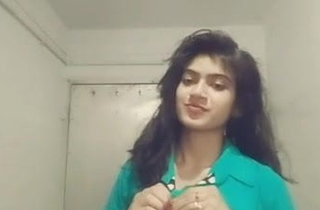 Indian hot girl, selfie video