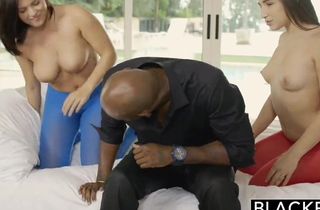 Schoolgirl fucked away from black beefy load for shit