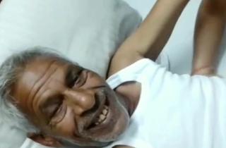 Desi grey uncle bonks randi aunty with clear Hindi audio