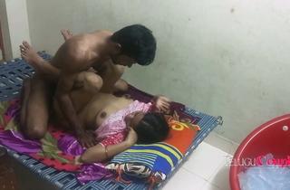 Real Bounce Married Telugu Stiffener Bonking