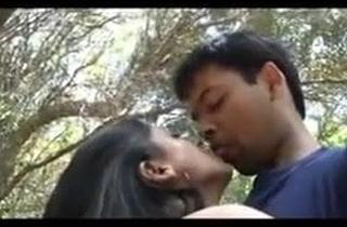Couple Liking Dealings in Honeymoon