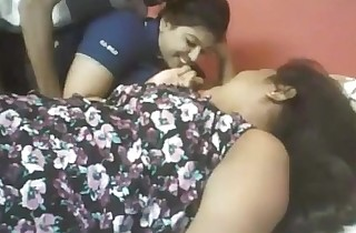 Indian two fat cuties with fortuitous stud web camera ...