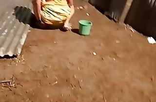 desi indian women pissing outside in the air undeceiving voyeur