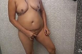 Hot Indian Desi Bhabhi Nude Bathroom Instalment