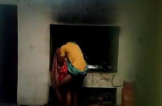 Desi village bhabi quick fucking with devar