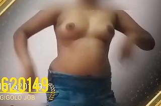 Indian meagre dance girl