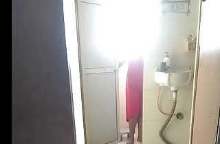 Aunty nude bathing