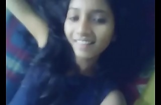 Indian girl shows her beautiful black unpromised ass MMS