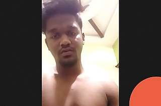 Indian Tamil Chennai Gym Straight Boy Jerking coupled with Cumming
