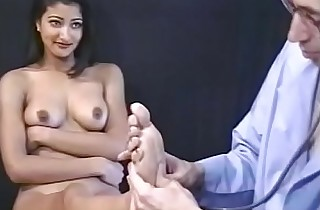 Sexy Indian whore loves to get pussy wearing down on the chair