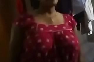 Desi aunty huge special in nighty