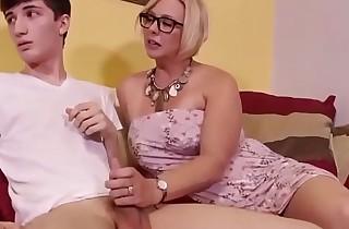 Aunt Bonks Nephew Handjob Adult-Wonders . com