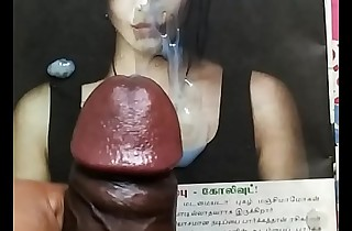 Cum tribute in all directions sexy actress Shruthi hassan