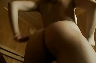 Blonde Girl With Correct Bosom Is Having Sextoy In Sauna On Livecam