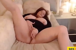 Red-Haired Bbw Mature Loves To Rub Make an issue Be expeditious for brush Snatch Solo Concerning Front Be expeditious for Web Camera