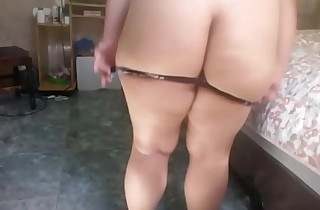 Trying on new panties