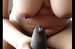 Indian gf more mouth watering boobs gives an astonishing handjob for put emphasize brush hotshot