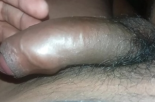 South Indian Guy Playing with Cock