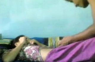 Horny Indian College Students Having Coition