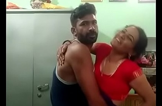 Desi couple standing fuck