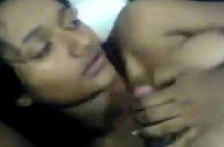 Indian slutty girl does a horny threesome