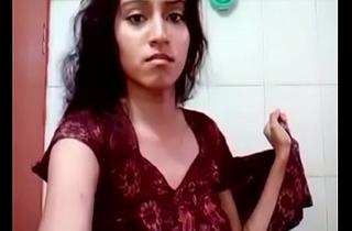 desi selfie girl Masturbating in the take a shower
