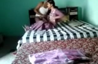 Newly Married Indian Couple Romance with Hindi Audio