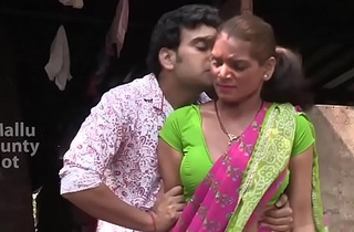 Hot bgrade maid being forced -- awesome cleavage