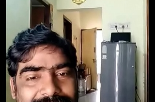 Indian uncle showing dick to his tie the knot