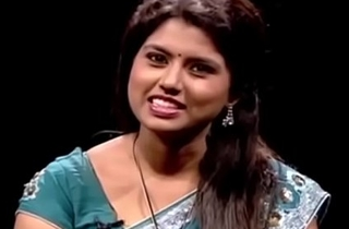 VID-20140209-PV0003-Chennai (IT) Tamil 25 yrs ancient unmarried beautiful and hot TV anchor Ms. Girija Sree (FM size # 38B-30-34) speaking sexily with sexologist to 29 yrs ancient Mettuppalayam Ravi in Captian TV &lsquo_Andharangam&rsquo_ show sex video-3