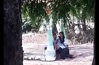 Indian college girl fucked in park