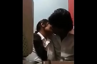 indian school students making love in a class