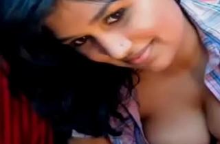 Desi girl strips and teases