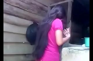 Indian aasam village girl
