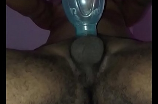 Indian Desi Boy Fucking a Bottle