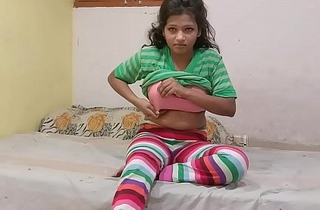 Indian Cousin sister In Jegging Rubbing Her wet Pussy Asking Her Cousin Brother To Fuck Her